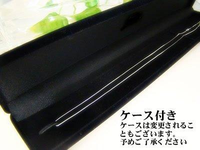 画像2: アズキネックレス(長さ50cm:幅1.4mm)/ホワイトゴールドK10[ユニセックス/男女共用]
